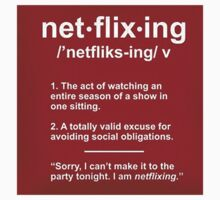 Netflixing by thecrazeclub