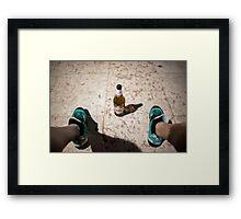 Beer time Framed Print