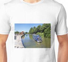 Devizes Wharf, Wiltshire, United Kingdom. Unisex T-Shirt