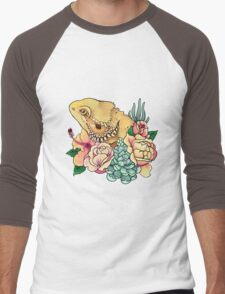 Pastel Bearded Dragon Men's Baseball ¾ T-Shirt