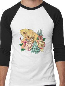 Pastel Bearded Dragon Men's Baseball ¾ T-Shirt