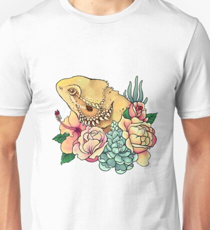 Pastel Bearded Dragon Unisex T-Shirt