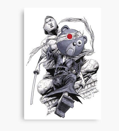 Afro Samurai - Kuma Canvas Print