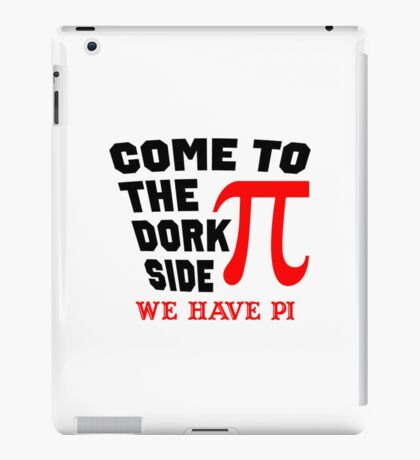 Come to the Dork Side iPad Case/Skin