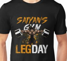 leg day - dragonballgoku Unisex T-Shirt