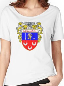 McLaughlin Coat of Arms/Family Crest Women's Relaxed Fit T-Shirt