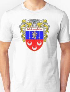 McLaughlin Coat of Arms/Family Crest Unisex T-Shirt