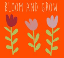 bloom and grow Kids Tee