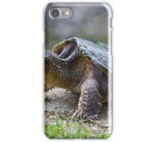Turtle Leaving Water iPhone Case/Skin