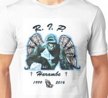 RIP Haramabe Unisex T-Shirt