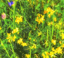 summer meadow Sticker