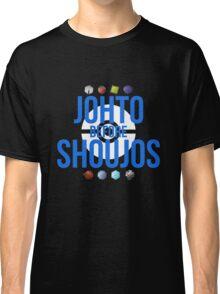 Johto Before Shoujos (White) Classic T-Shirt