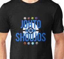 Johto Before Shoujos (White) Unisex T-Shirt