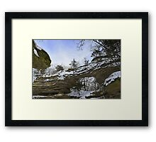 BRIDGE OF GRACE Framed Print