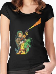 Man O Mars Women's Fitted Scoop T-Shirt