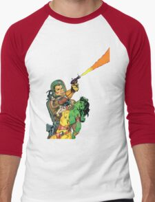 Man O Mars Men's Baseball ¾ T-Shirt