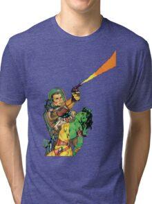 Man O Mars Tri-blend T-Shirt