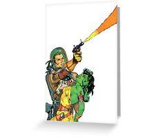 Man O Mars Greeting Card