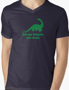 All My Friends Mens V-Neck T-Shirt