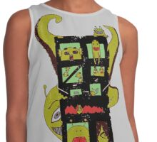 Monster Building by Lolita Tequila Contrast Tank