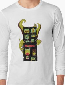 Monster Building by Lolita Tequila Long Sleeve T-Shirt