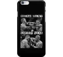 Mark Hunt Vs Bigfoot Silva iPhone Case/Skin