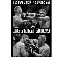 Mark Hunt Vs Bigfoot Silva Photographic Print
