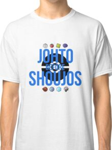 Johto Before Shoujos (Black) Classic T-Shirt