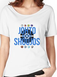 Johto Before Shoujos (Black) Women's Relaxed Fit T-Shirt