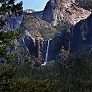 Bridalveil Falls from a Distance by HeavenOnEarth