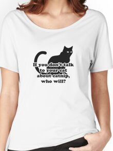 Catnip Women's Relaxed Fit T-Shirt