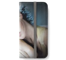 Flowers to Match Her Eyes iPhone Wallet/Case/Skin