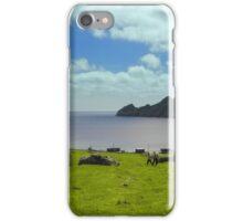 Village Bay, Hirta iPhone Case/Skin