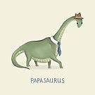 Papasaurus by Katie Corrigan