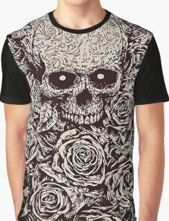 Skull & Roses Graphic T-Shirt