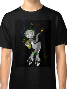Retro Space Octopus by Lolita Tequila  Classic T-Shirt