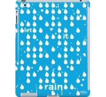 Let It Rain iPad Case/Skin
