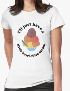 Ice Cream Understatement Womens Fitted T-Shirt