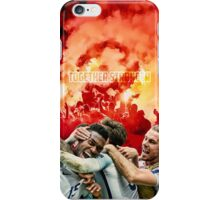 England Poster - Together Stronger iPhone Case/Skin