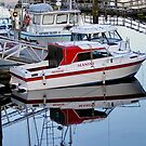 Manini Moored in Port Hardy by AnnDixon