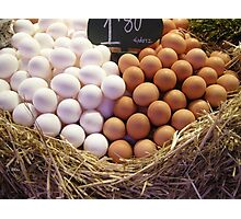 Eggs for sale  Photographic Print
