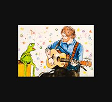 Ed Sheeran and Kermit the Frog Color Splash  Unisex T-Shirt