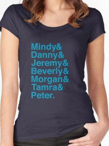 The Mindy Project- Season 3 Women's Fitted Scoop T-Shirt