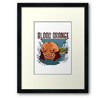 Blood Orange Vampire Framed Print