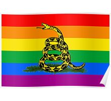 Don't Tread on Pride Poster