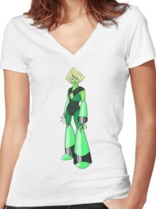 Clod - No Text Women's Fitted V-Neck T-Shirt