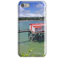 Tenby Old Lifeboat Station iPhone Case/Skin