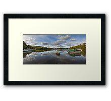 River  Dart Panorama Framed Print