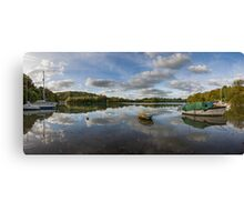 River  Dart Panorama Canvas Print