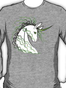 Ki-Rin (Japanese Unicorn) - Green T-Shirt